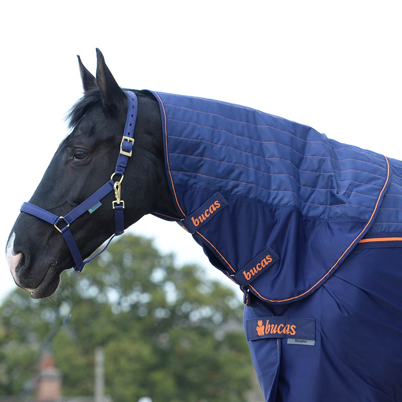 Recuptex Therapy Rug & Combi Neck Navy/Orange